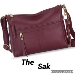 The Sak Leather Almeda Crossbody Bag NWT